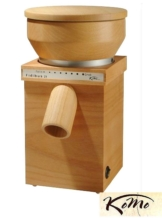 Komo Fidibus 21 Getreidemühle 250 W Buchenholz Kornmühle,auch Glutenfrei wählbar